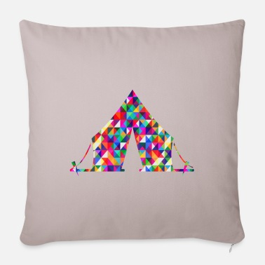Tent tent - Pillowcase 17,3'' x 17,3'' (45 x 45 cm)