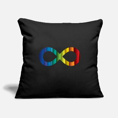 Infinity Infinity Sign - Infinity - Infinity - Pillowcase 17,3'' x 17,3'' (45 x 45 cm)