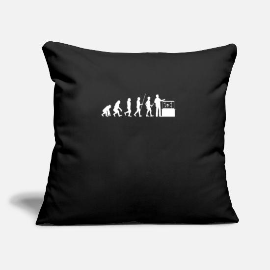 Birthday Present Pillow Cases - Fishes Fish Lovers Aqua Marine Aquarist Gift - Pillowcase 17,3'' x 17,3'' (45 x 45 cm) black