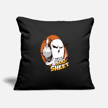 Scary Monster This Is Boo Sheet Funny Ghost Halloween Gift - Pillowcase 17,3'' x 17,3'' (45 x 45 cm)
