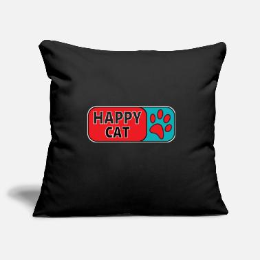 Cat cat lover - design shirt gift idea - Pillowcase 17,3'' x 17,3'' (45 x 45 cm)