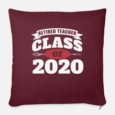 Grade Funny Retired Teacher Preschool Teacher 2020 - Pillowcase 17,3'' x 17,3'' (45 x 45 cm)
