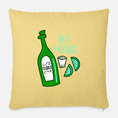Mexico Bestfriends Tequilla Alcohol Drunk Party Gift - Pillowcase 17,3'' x 17,3'' (45 x 45 cm)