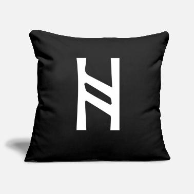 Culture Character rune symbol gift spirit culture - Pillowcase 17,3'' x 17,3'' (45 x 45 cm)