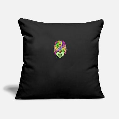 Mental Health Mental Health Awereness Mental Health Brain - Pillowcase 17,3'' x 17,3'' (45 x 45 cm)