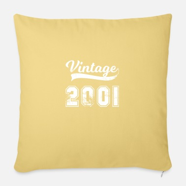 Desi Vintage 2001 birthday retro - Pillowcase 17,3'' x 17,3'' (45 x 45 cm)