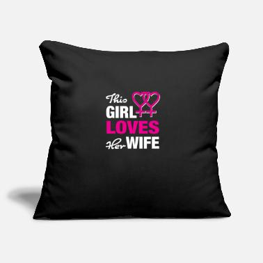 Love My Wife Love my wife - Pillowcase 17,3'' x 17,3'' (45 x 45 cm)
