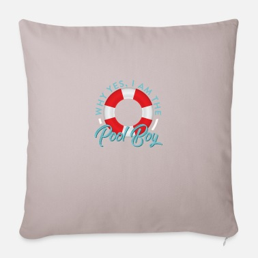 Morning Funny Swimming Oxygen Is Overrated - Pillowcase 17,3'' x 17,3'' (45 x 45 cm)