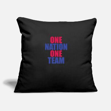 National Team ONE NATION ONE TEAM - Pillowcase 17,3'' x 17,3'' (45 x 45 cm)