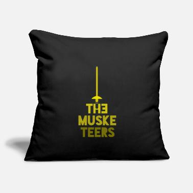 Musket the musketeers - Pillowcase 17,3'' x 17,3'' (45 x 45 cm)