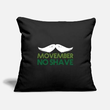 Shaved No shave - Pillowcase 17,3'' x 17,3'' (45 x 45 cm)