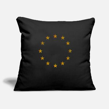 Pro Eu EU Flag Europe Vintage Retro Pro EU Anti Brexit - Pillowcase 17,3'' x 17,3'' (45 x 45 cm)