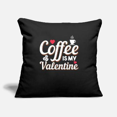 Friendship Womens Funny Valentine's Day Coffee Design - Pillowcase 17,3'' x 17,3'' (45 x 45 cm)