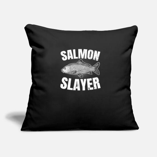 Salmon Putetrekk - Salmon Fishing Salmon Slayer Gift - Putetrekk svart
