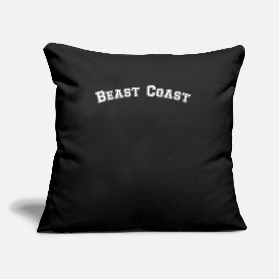 Ny Pillow Cases - Hip Hop Gifts. New York hip hop. - Pillowcase 17,3'' x 17,3'' (45 x 45 cm) black
