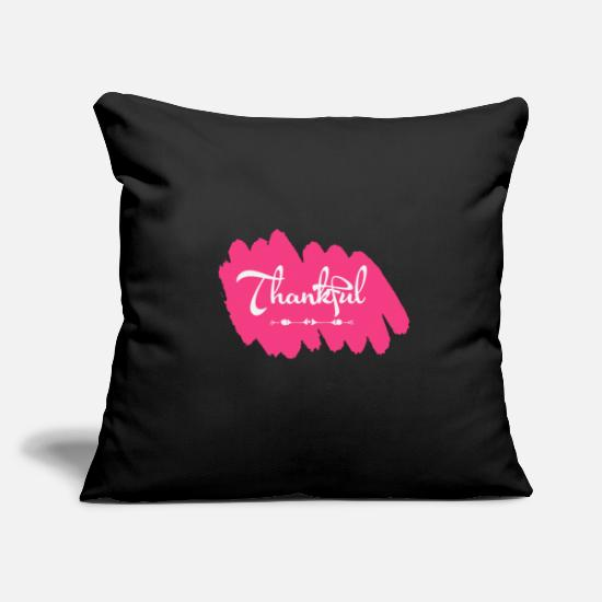 Lucky Pillow Cases - Makes a great gift for everyone feels good to - Pillowcase 17,3'' x 17,3'' (45 x 45 cm) black