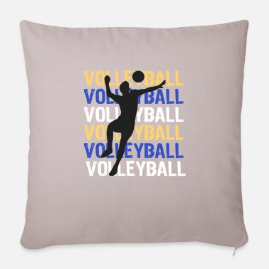 Volleyball Player Volleyball volleyball player volleyball player - Pillowcase 17,3'' x 17,3'' (45 x 45 cm)