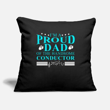 Conductor father - Pillowcase 17,3'' x 17,3'' (45 x 45 cm)