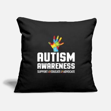 Advocate Support Educate Advocate Autism Awareness - Pillowcase 17,3'' x 17,3'' (45 x 45 cm)