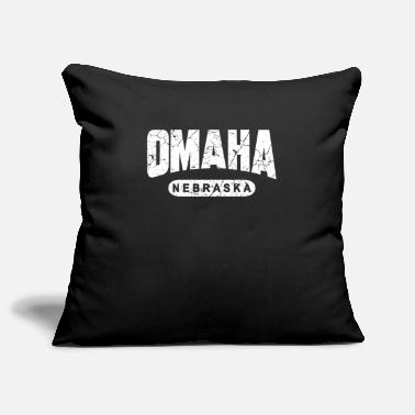 Omaha Omaha Nebraska - Pillowcase 17,3'' x 17,3'' (45 x 45 cm)