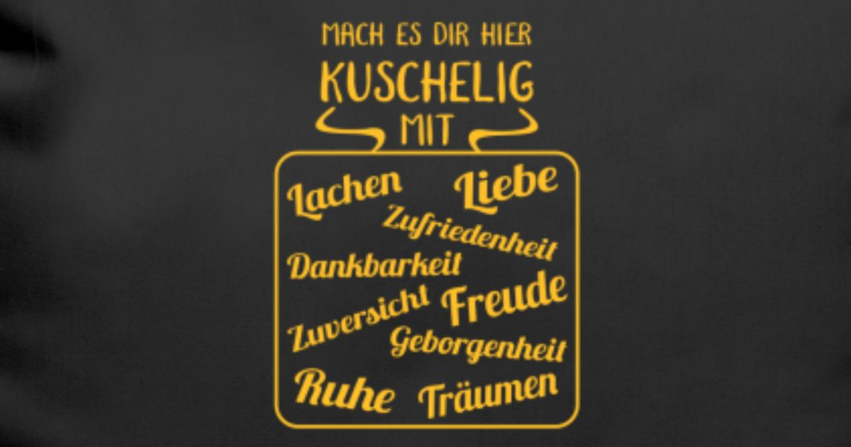 Lachen Liebe Kuschelig Kissen Geschenk Spruch Kissenhulle Spreadshirt