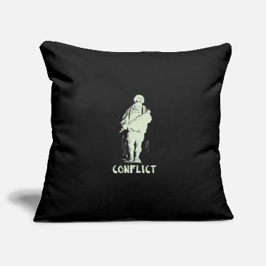 Conflict Conflict soldier - Pillowcase 17,3'' x 17,3'' (45 x 45 cm)