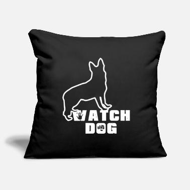 Watchdog Watchdog watchdog German shepherd police dog - Pillowcase 17,3'' x 17,3'' (45 x 45 cm)