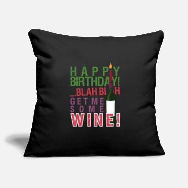 Birthday Saying Birthday Sayings Funny birthday saying - Pillowcase 17,3'' x 17,3'' (45 x 45 cm)