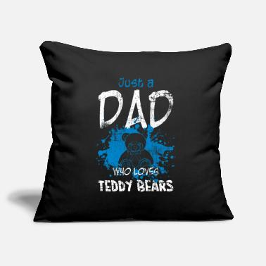 Papa Teddy Papa Papa - Pillowcase 17,3'' x 17,3'' (45 x 45 cm)