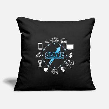Slave slave - Pillowcase 17,3'' x 17,3'' (45 x 45 cm)