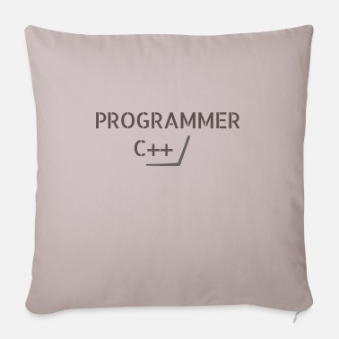 C C ++ - Pillowcase 17,3'' x 17,3'' (45 x 45 cm)