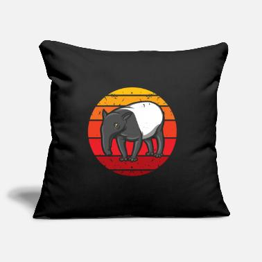 Mormon Funny Mormon LDS Retro Tapir - Pillowcase 17,3'' x 17,3'' (45 x 45 cm)