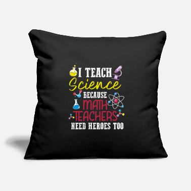 Computer Humour Funny scientist teacher anti math - Pillowcase 17,3'' x 17,3'' (45 x 45 cm)