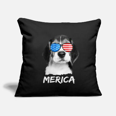 United Beagle USA Amerika Hund US United States - Kissenhülle