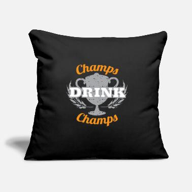 Champ Champs Drink Champs - Sierkussenhoes, 44 x 44 cm