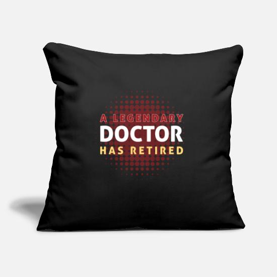 Legendary Pillow Cases - A Legendary Doctor - Pillowcase 17,3'' x 17,3'' (45 x 45 cm) black