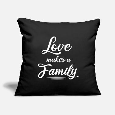 Family Values Family reunification family siblings - Pillowcase 17,3'' x 17,3'' (45 x 45 cm)