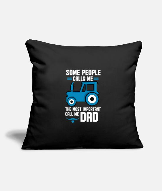 Father's Day Pillow Cases - Father's Day Gift - Father's Day Saying - Father's Day - Pillowcase 17,3'' x 17,3'' (45 x 45 cm) black