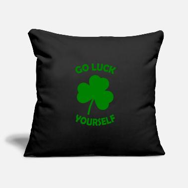 St. Patrick's Day GO LUCK YOURSELF - Pillowcase 17,3'' x 17,3'' (45 x 45 cm)