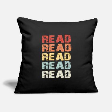 Read Read Read - Pillowcase 17,3'' x 17,3'' (45 x 45 cm)