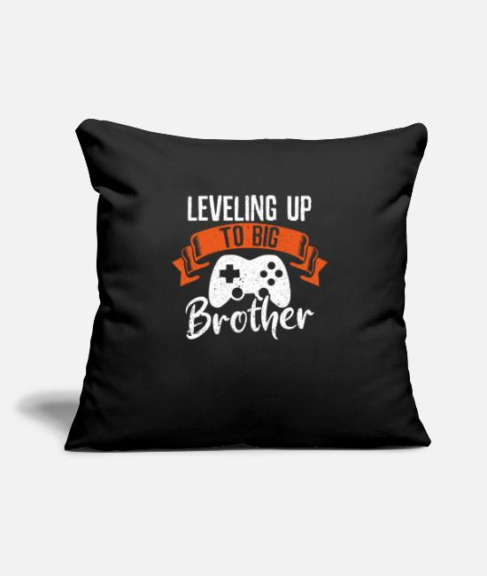 The Gameslave Pillow Cases - Gamer brother gambler sibling offspring gift - Pillowcase 17,3'' x 17,3'' (45 x 45 cm) black