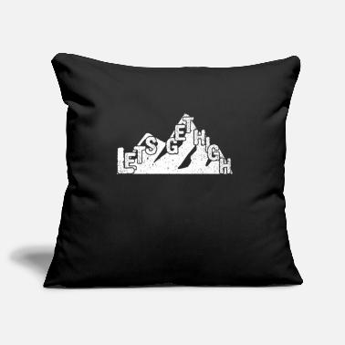 Hiking hike hiking group mountains climbing forest - Pillowcase 17,3'' x 17,3'' (45 x 45 cm)