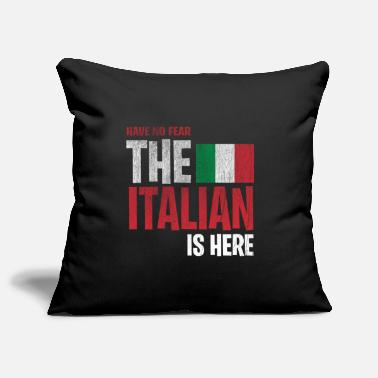 The Italian is here Italy Italia - Pillowcase 17,3'' x 17,3'' (45 x 45 cm)