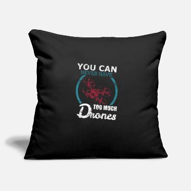 Drone Drones drones - Pillowcase 17,3'' x 17,3'' (45 x 45 cm)