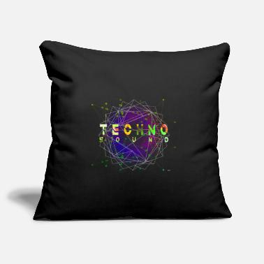 Open Divertimento Tshirt Techno Sound Wave & Rave Festival - Copricuscino