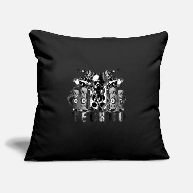 Goa Techno Authority Hardstyle Amsterdam Underground - Pillowcase 17,3'' x 17,3'' (45 x 45 cm)