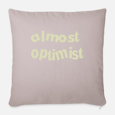 optimist - Pillowcase 17,3'' x 17,3'' (45 x 45 cm)