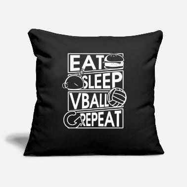 Set Eat Sleep Vball Repeat Volleyball Gift - Copricuscino per divano, 44 x 44 cm
