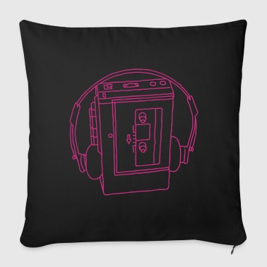 WALKMAN cassette recorder - Sofa pillow cover 44 x 44 cm