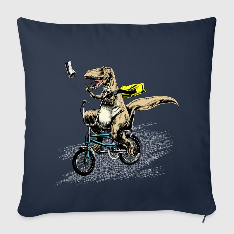 T-Rex Paperboy - Sofa pillow cover 44 x 44 cm